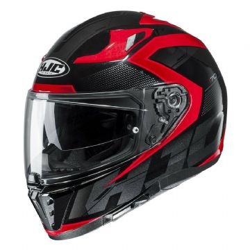 HJC I70 Asto Red Full Face Motorcycle Motorbike Helmet New to 2019 Free Pinlock